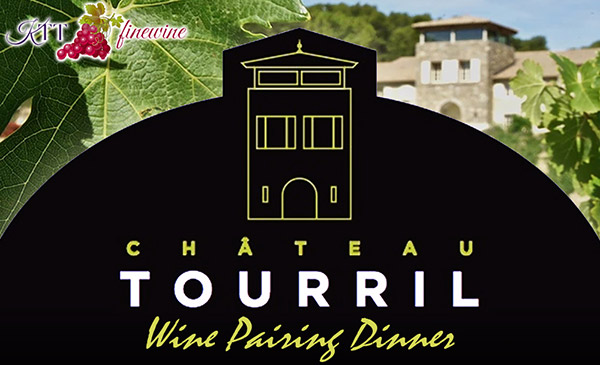 Chateau Tourril Wine Pairing Dinner