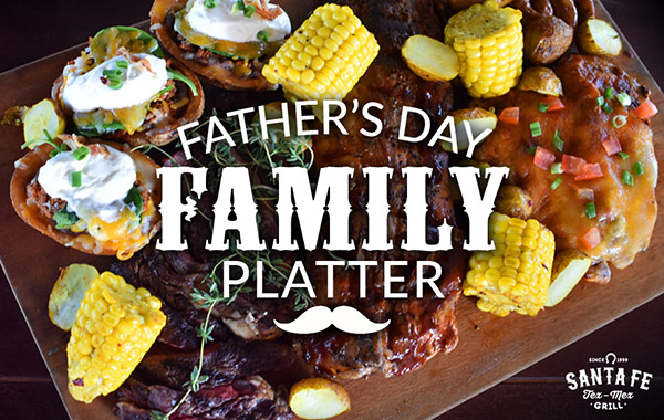 Father's Day Family Platter