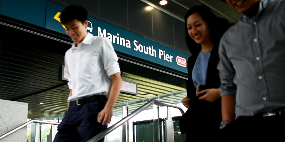 Marina South Pier MRT