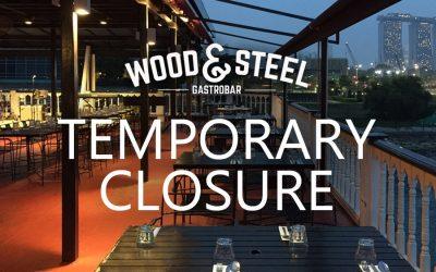 Temporary Closure of Wood & Steel Gastrobar