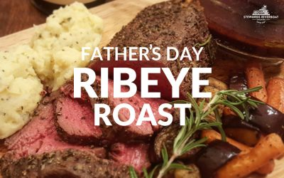 Father's Day Ribeye Roast