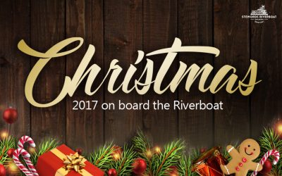 Christmas 2017 on board the Riverboat