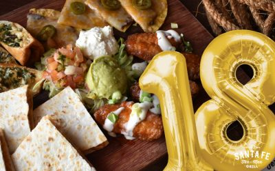 Santa Fe celebrates 18th Anniversary this July with an $18 Tex-Mex Platter