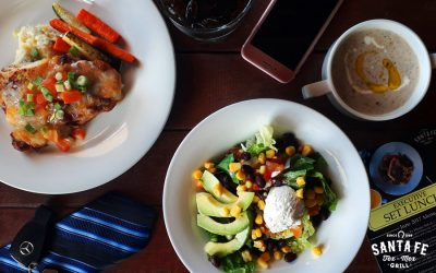 Santa Fe Executive Set Lunch (October 2017)