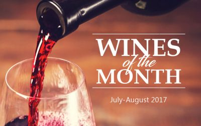 Wines of the Month (July-August 2017)