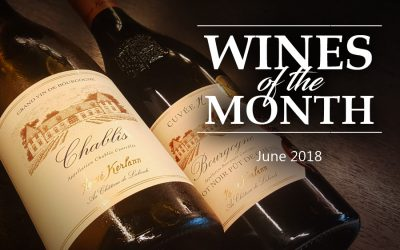 Wines of the Month (June 2018)