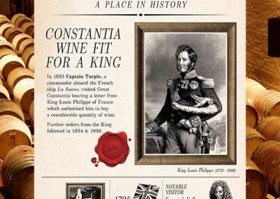 Event, Groot Constantia, King