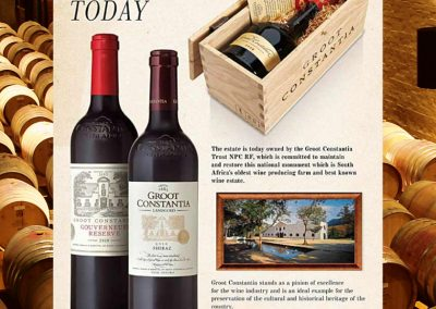 Event, Groot Constantia, Today
