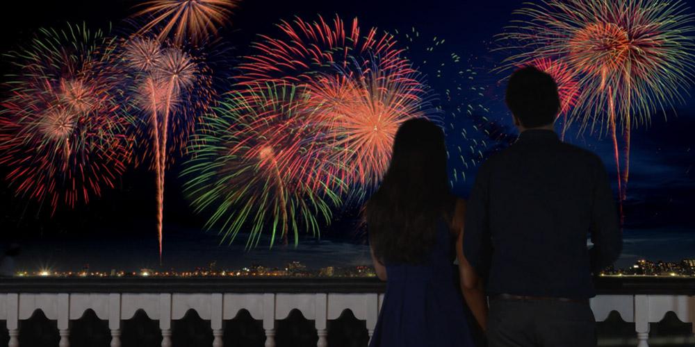 Riverboat Fireworks