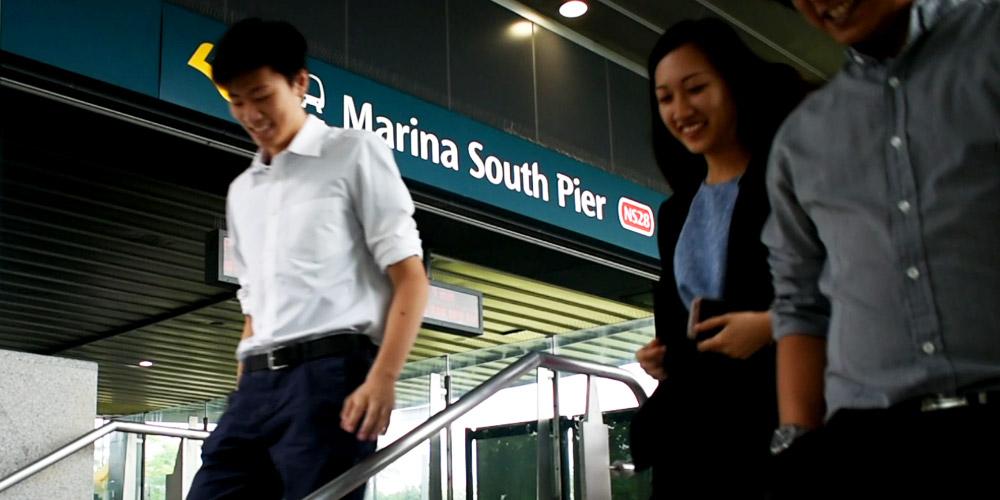 Marina South Pier MRT