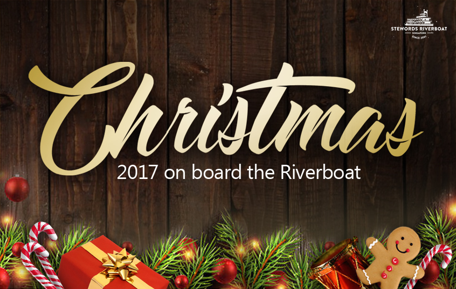 Chrsitmas 2017 on board the Riverboat