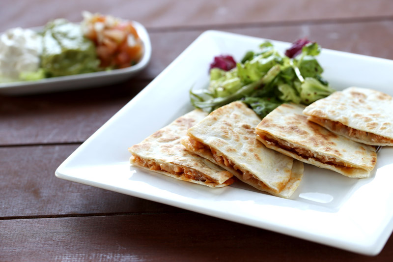 Turkey-Quesadillas