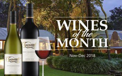 Wines of the Month (Nov-Dec 2018)