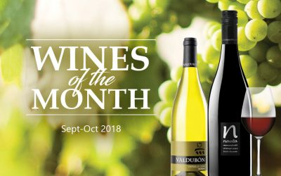 Wines of the Month (Sept-Oct 2018)